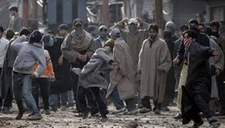 Clashes erupted as educational institutions re-opened in J&K